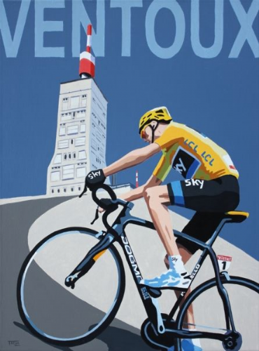 FROOME ON VENTOX  Print